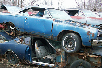 rusty mopars minnesota barn finds junkyard