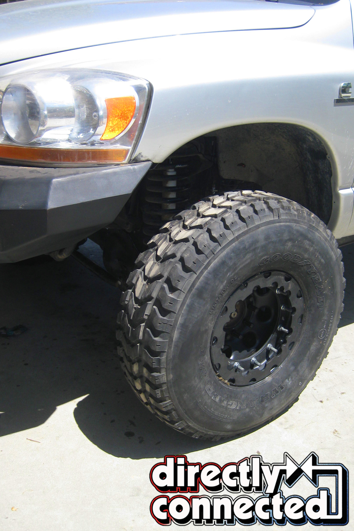 Double Standard: Hardcore Wheels and Tires For This Cummins ... | military surplus hummer tires