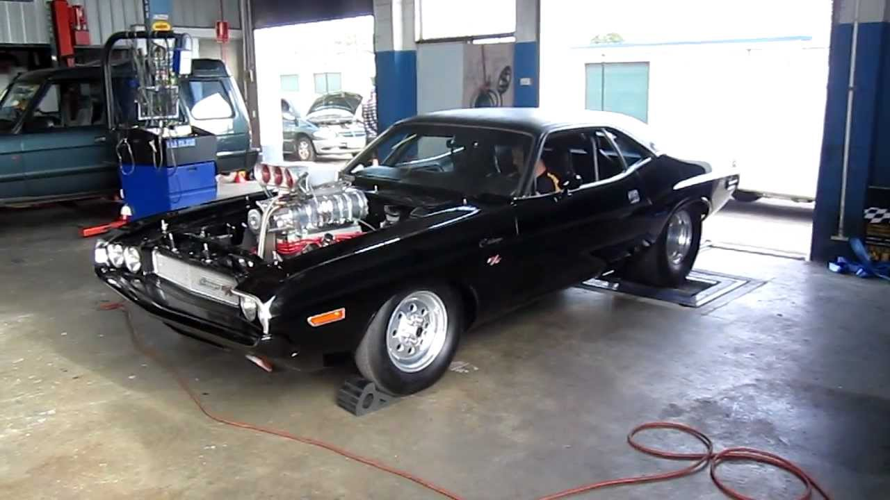 All Types challenger rt hp : Video: Watch This 1,600HP Blown Hemi R/T Challenger On The Dyno ...