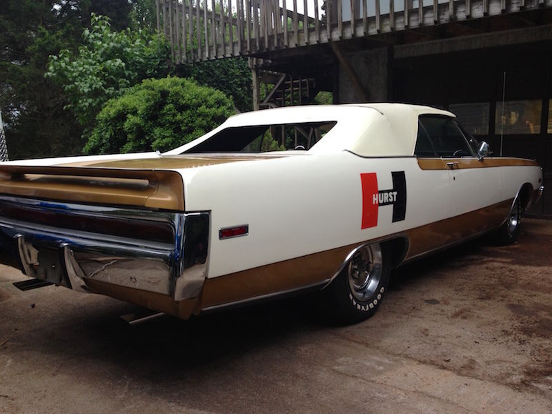 eBay Find of The Day: Incredible 1-of-1 \'70 Chrysler 300H Hurst ...