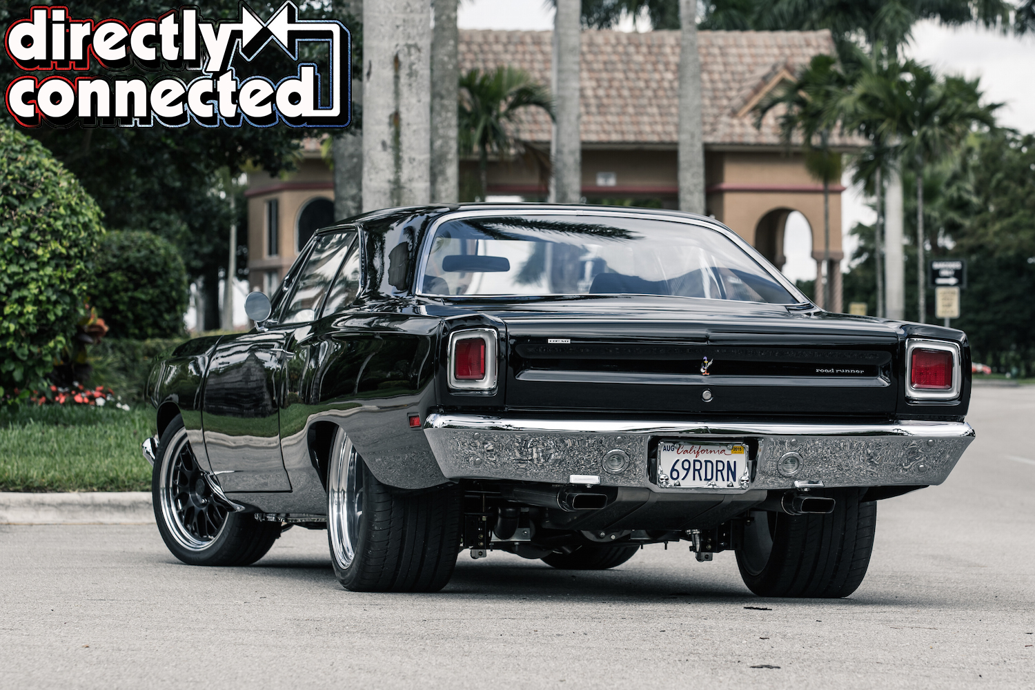 Blackest Night Pro Touring 69 Plymouth Hemi Road Runner Mopar