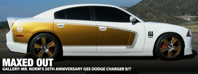 Gallery Maxed Out Mr Norm S 50th Anniversary Gss Dodge