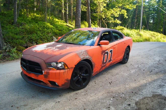 Wrapzone Transforms 14 Dodge Charger R T Into Rough
