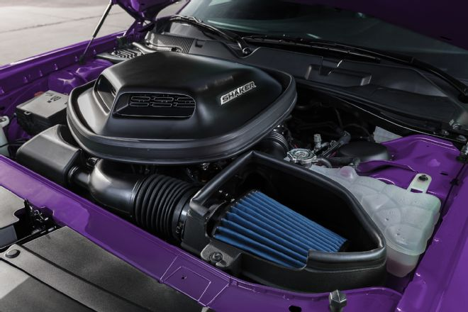 2016-dodge-challenger-plum-crazy-limited-edition-shaker-open-hood