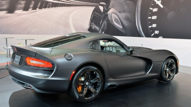 Ram 1500 Rt >> Gallery: Dodge Viper Available in Custom Metallic Matte ...