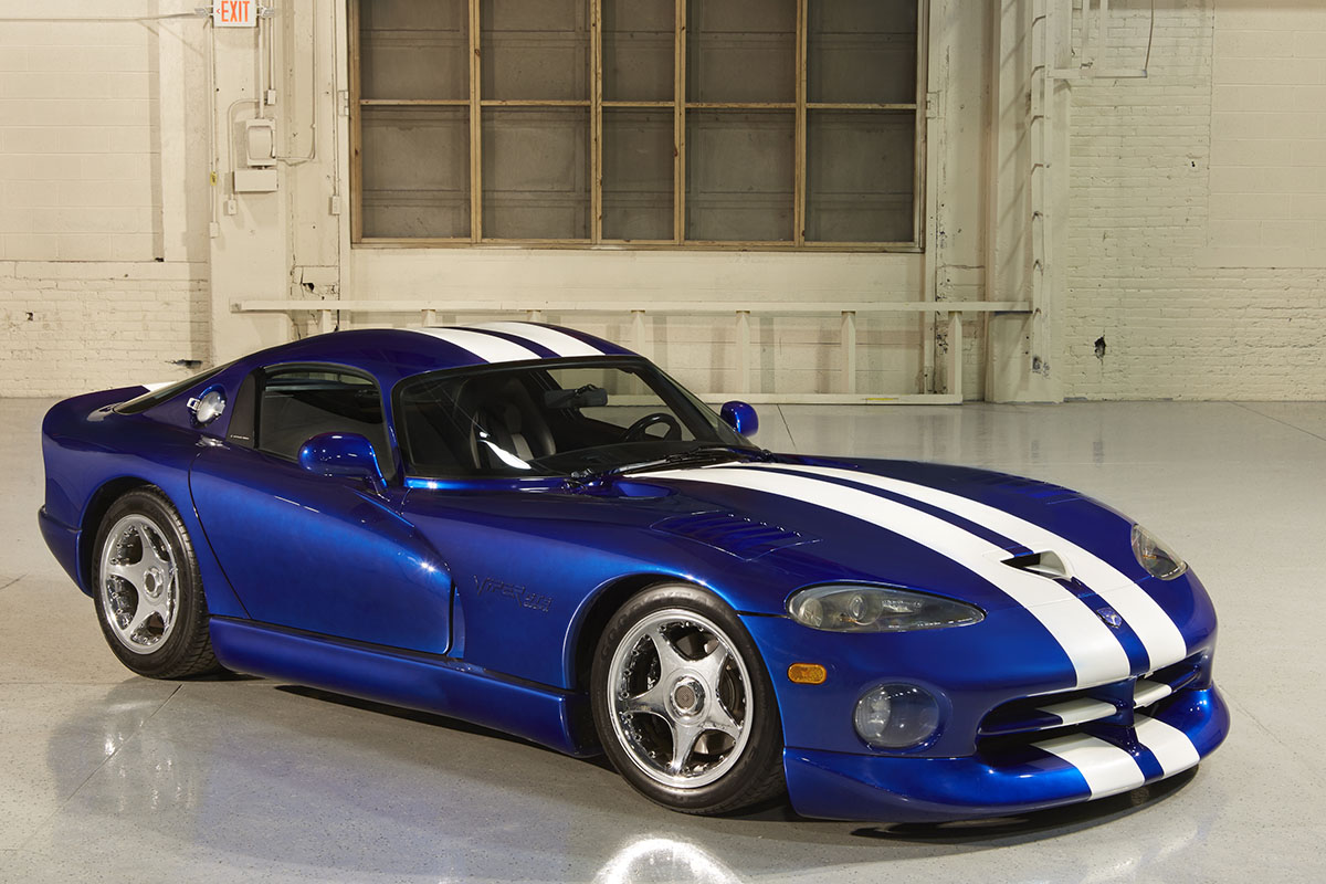 1994 Dodge Viper Gts Coupe Concept Mopar Connection