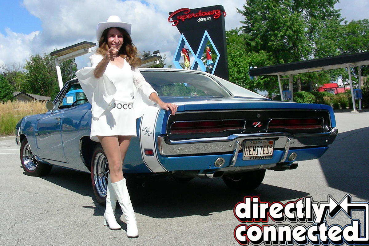 The Ultimate White Hat Special 1969 Dodge Hemi Charger R