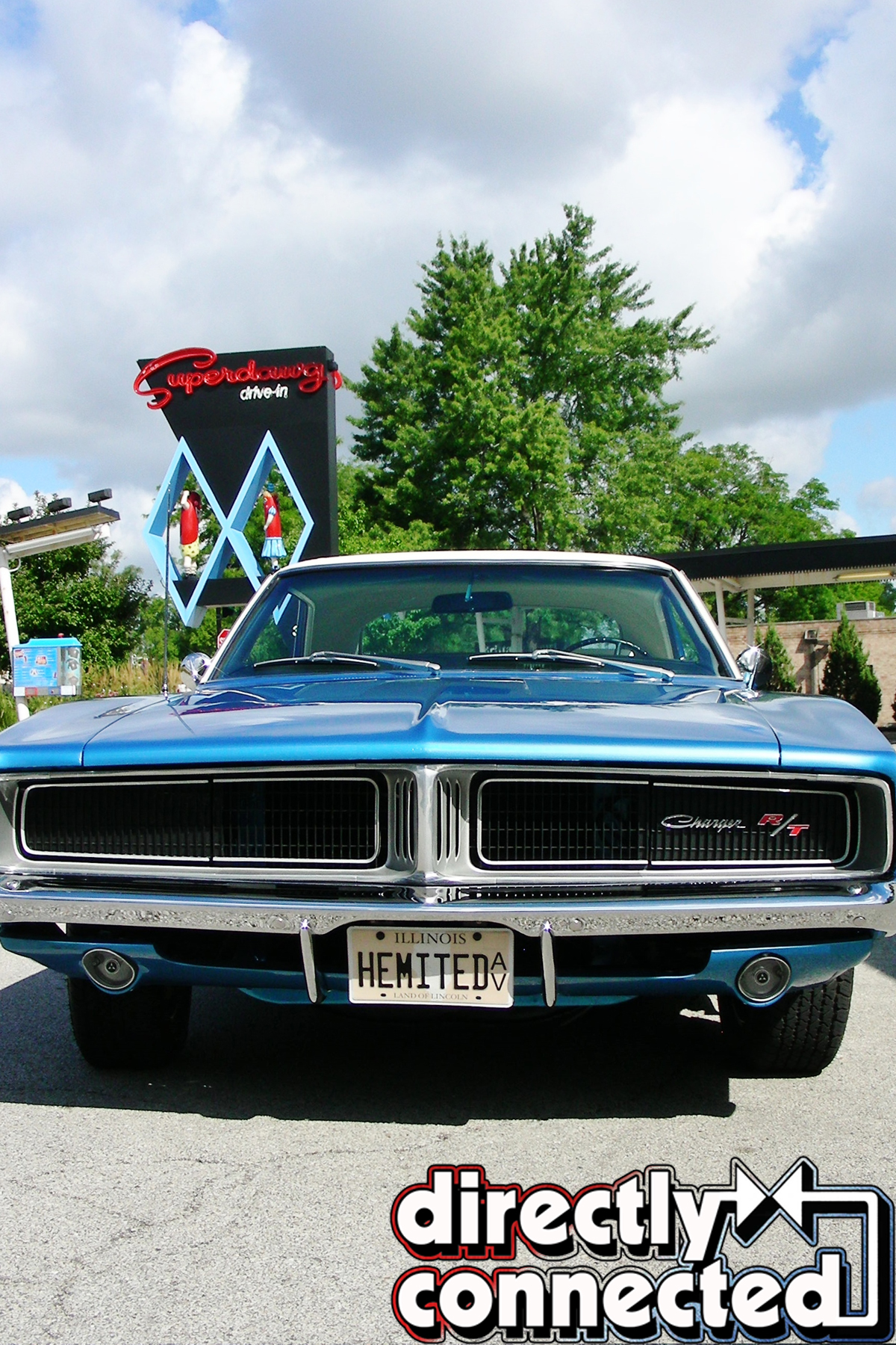 1969 Dodge Charger Rt: The Ultimate White Hat Special: 1969 Dodge Hemi Charger R