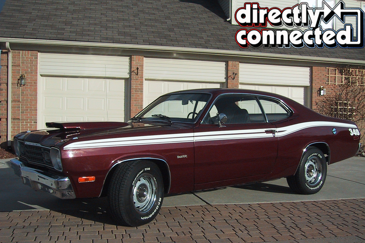 like dust in the wind tom gronowicz s 1973 plymouth duster 340 mopar connection magazine a. Black Bedroom Furniture Sets. Home Design Ideas