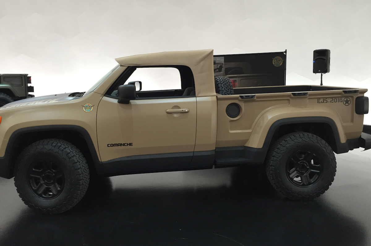 Jeep-Comanche-concept-side-view | Mopar Connection ...