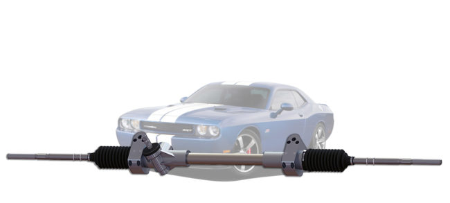2015 Challenger Manual Rack and Pinion_with vehicle