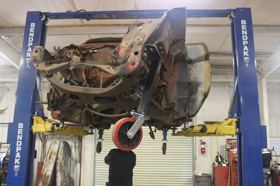Ted Stephens 1969 Charger Daytona Goes Under The Knife