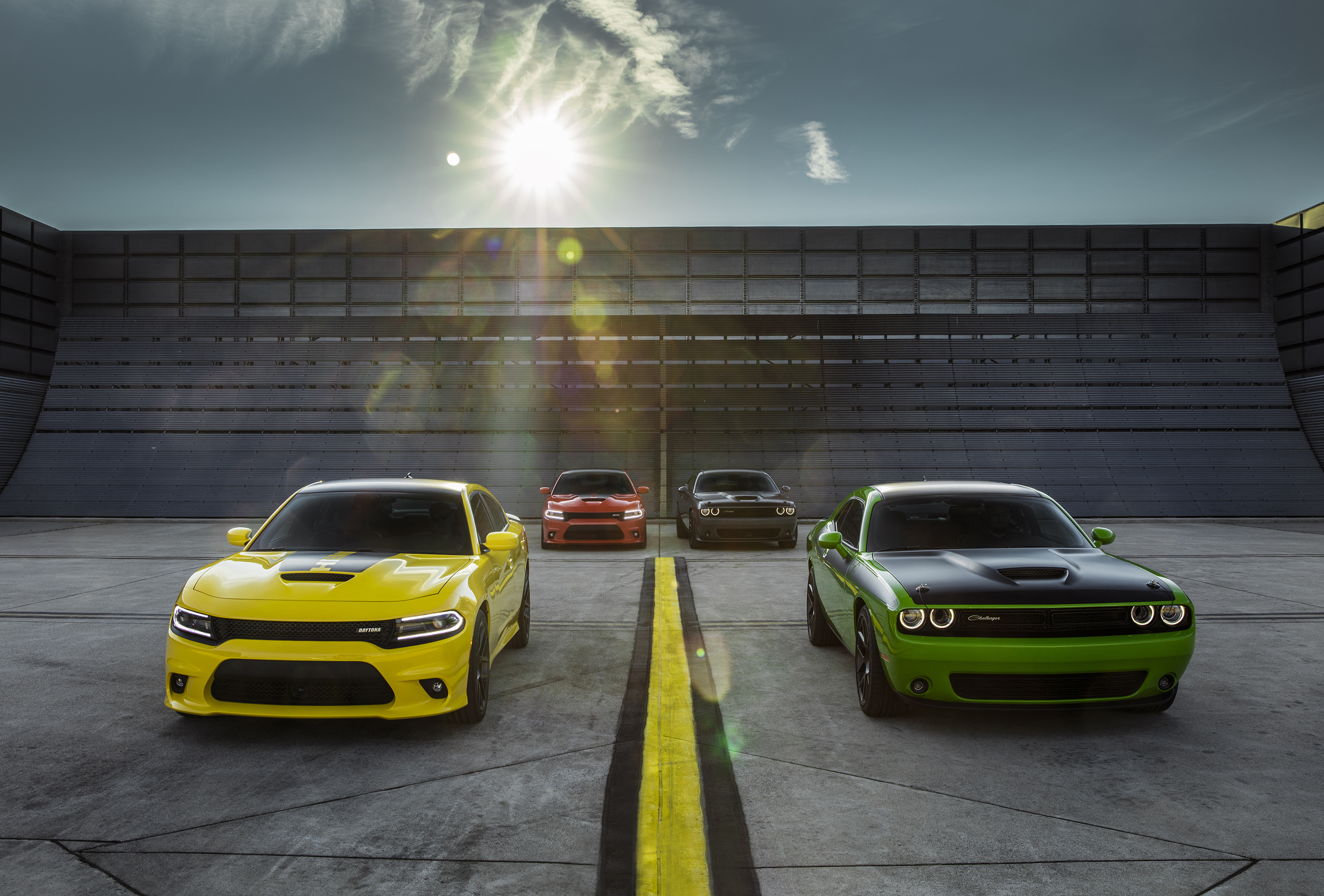 New 2017 Dodge Challenger T/A and Charger Daytona – two perfor