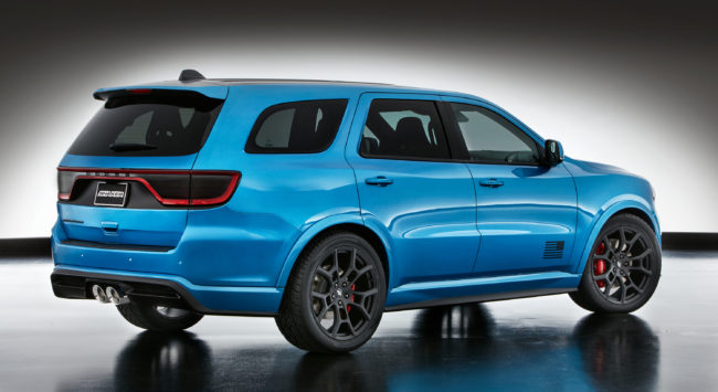 "Mopar ""shook up"" the Dodge Charger of the SUV segment for SE"
