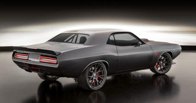 The Dodge Shakedown Challenger weaves together design cues from