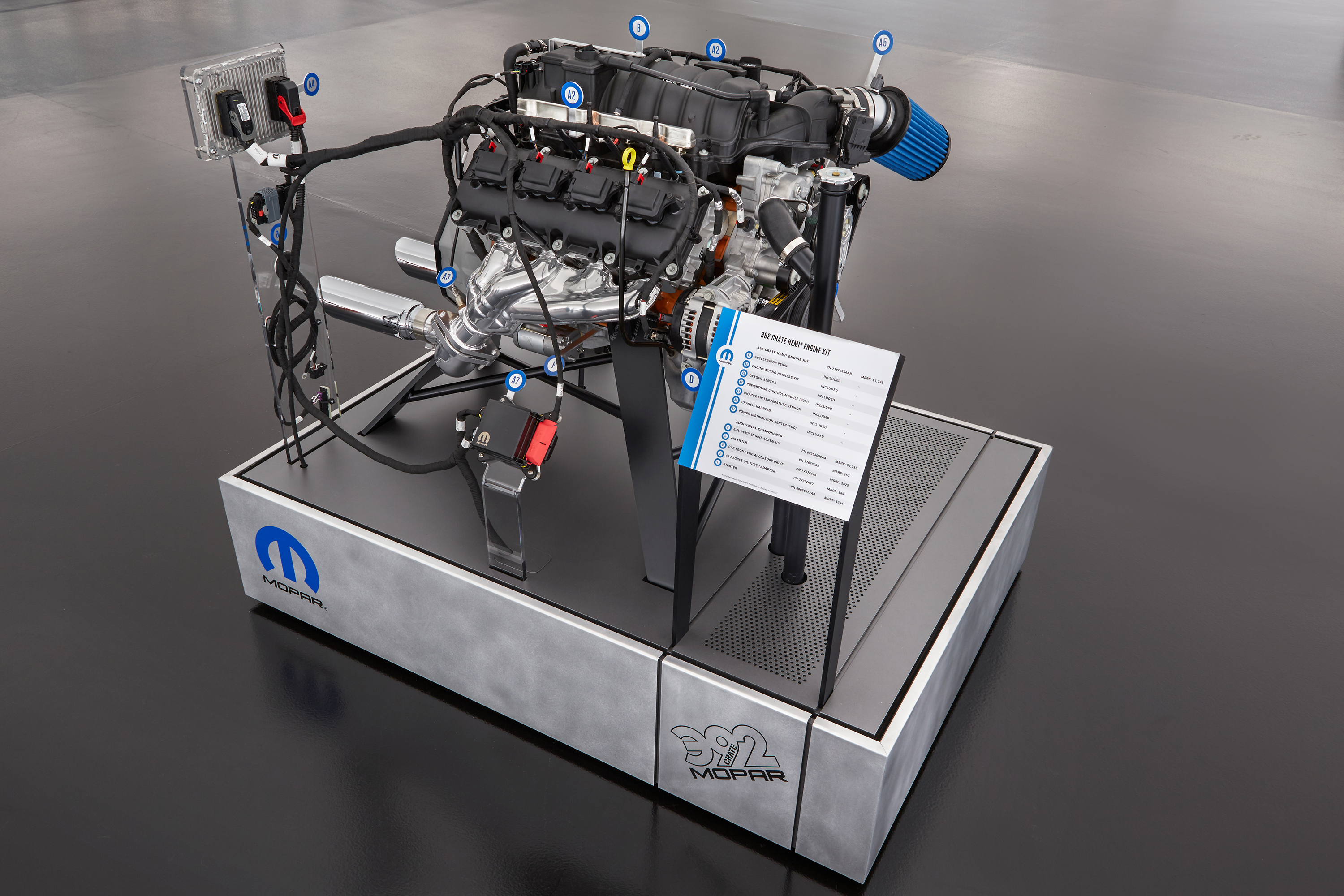 Swap A Modern Hemi Into Your Classic Mopar With Mopars New Crate 1970 Dodge D100 Wiring Harness Engine Kits Connection Magazine Comprehensive Daily Resource For