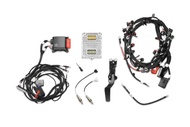 The Mopar 345 Crate HEMI® Engine Kit for the 5.7-liter engine a