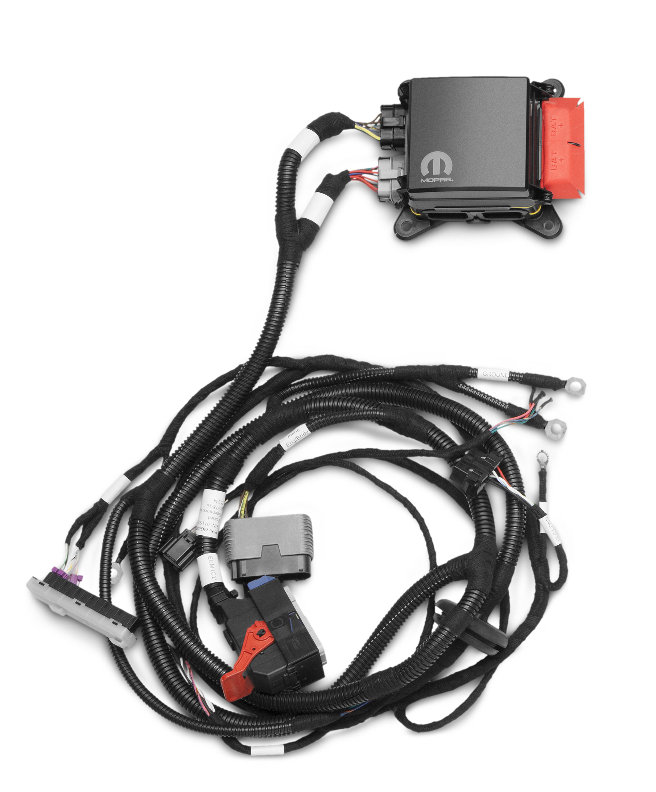 Swap A Modern Hemi Into Your Classic Mopar With Mopars New Crate 1974 Dodge Challenger Wiring Harness Engine Kits Connection Magazine Comprehensive Daily Resource For