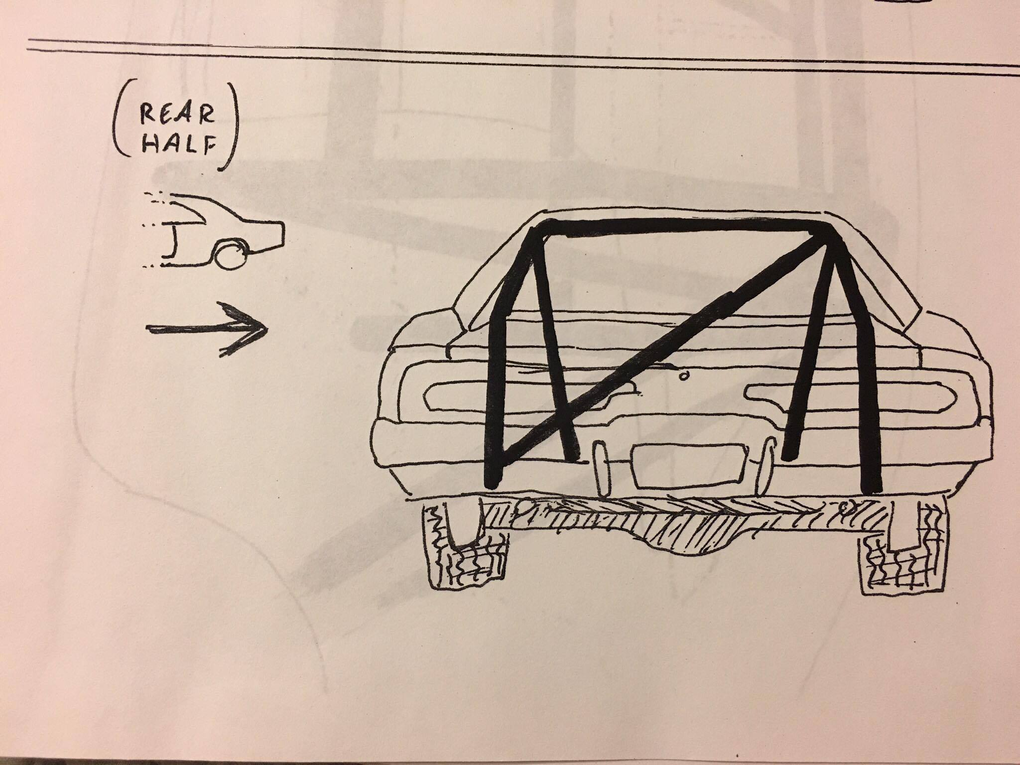 rollcage: the roll cage in general lee #1 was built with 1 �-inch od  tubing  the horizontal bars that ran alongside the doors were at two  different levels