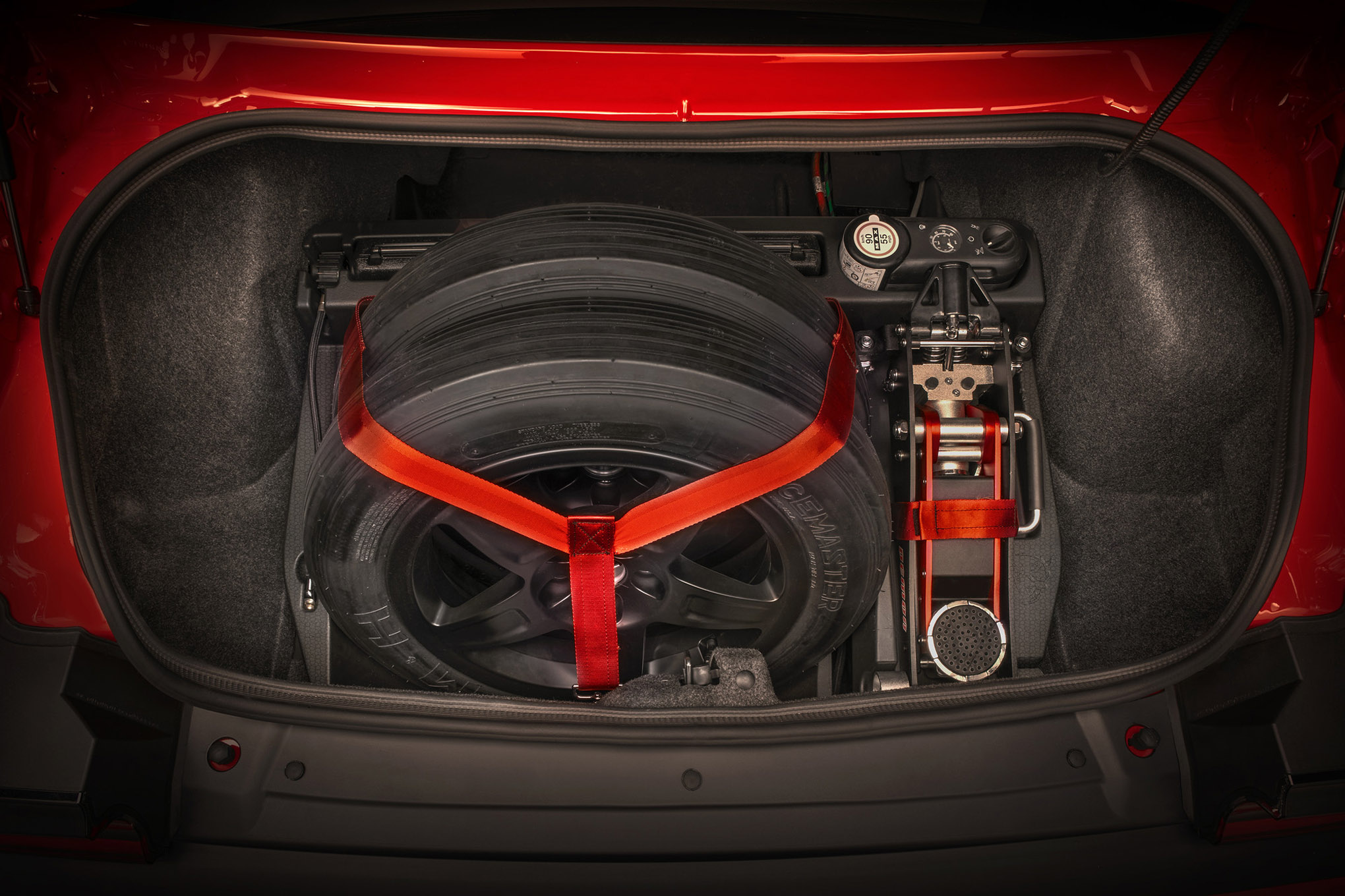 2018 Dodge Challenger SRT Demon Drag Kit features a foam case th