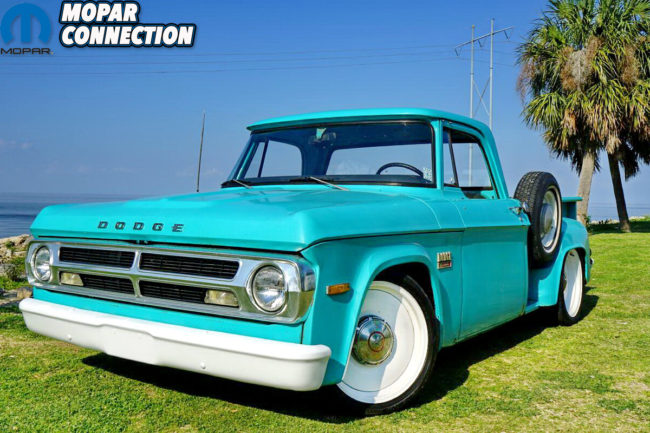 A Father's Vision: Chris Clardy's 1970 Dodge D100 - Mopar Connection
