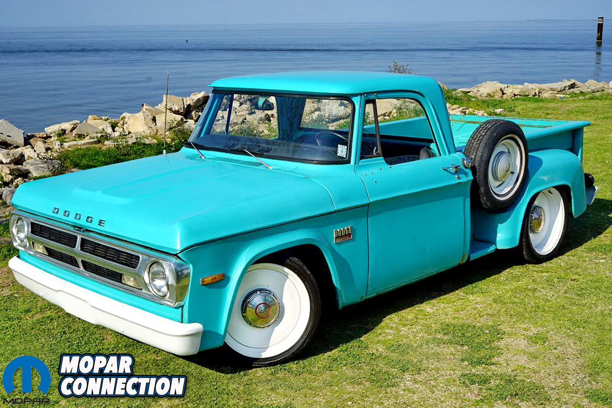 A Father S Vision Chris Clardy S 1970 Dodge D100 Mopar Connection Magazine A Comprehensive Daily Resource For Mopar Enthusiast News Features And The Latest Mopar Techmopar Connection Magazine A Comprehensive