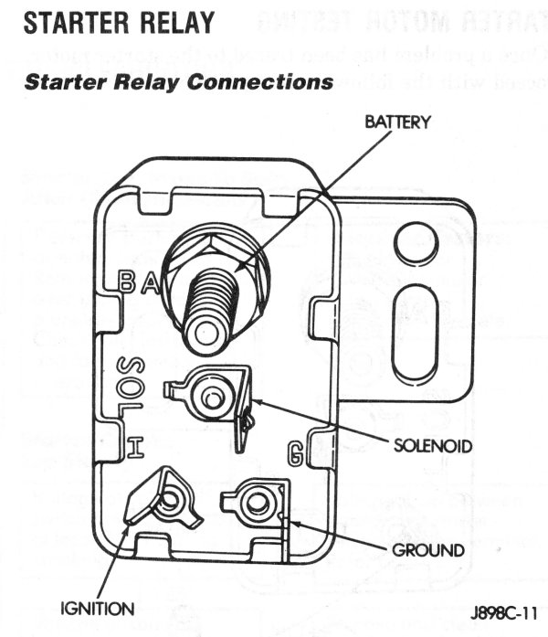 mopar starter relay wiring diagram