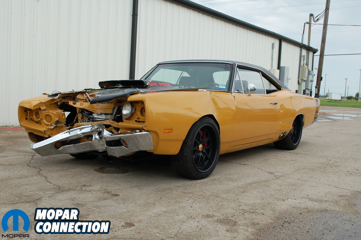 Ram Runner For Sale >> Video: Wrecked 1969 1/2 A12 Super Bee Up For Grabs On eBay | Mopar Connection Magazine | A ...