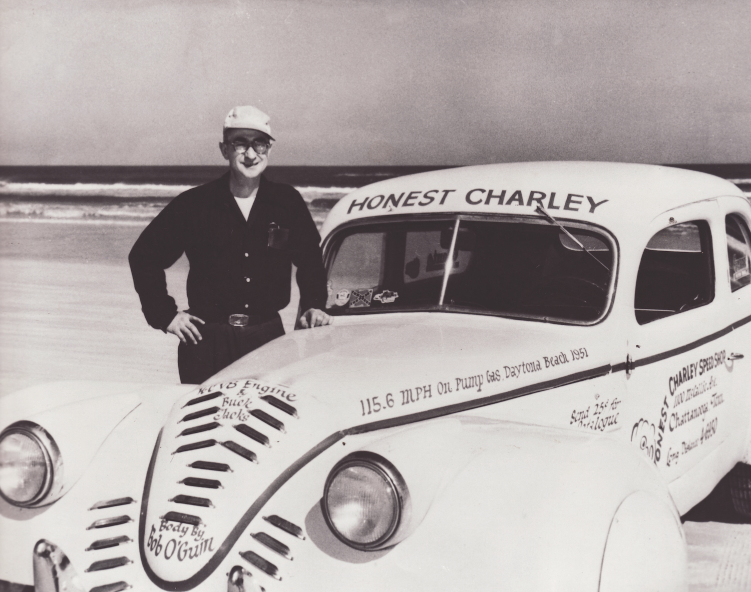 002-Honest Charley Daytona Car