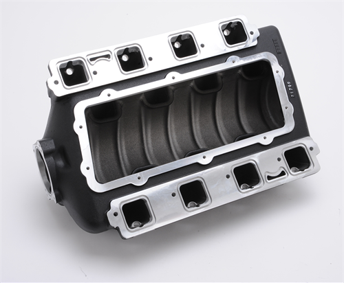 edelbrock releases new victor ii efi intake manifold for. Black Bedroom Furniture Sets. Home Design Ideas