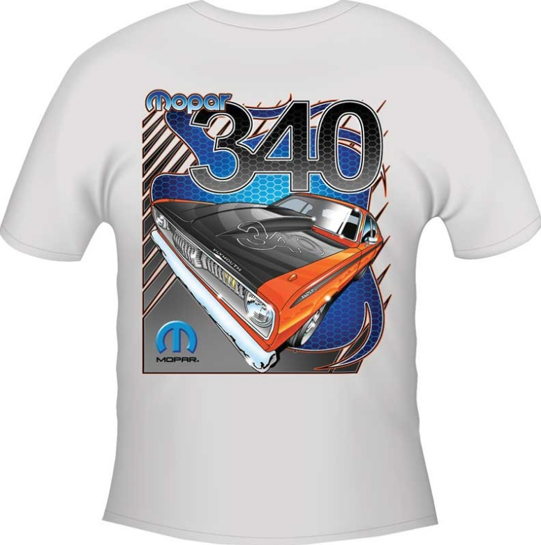 Grab Some Mopar Gear With Mopar Themed T-shirts On Sale at Classic ...