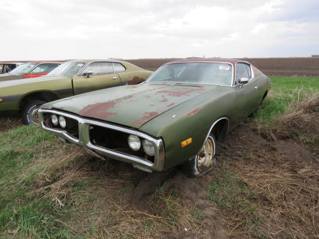 1972 Dodge Charger 318; $1,750