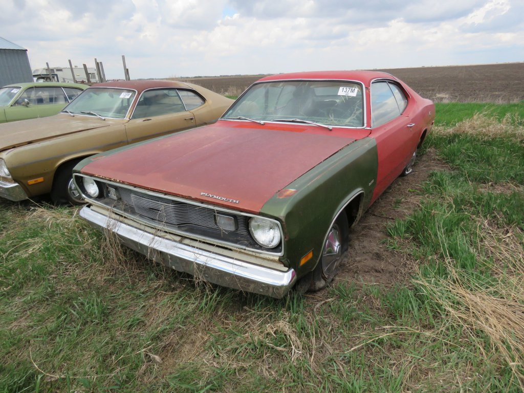 1972 Plymouth Duster 318; $350