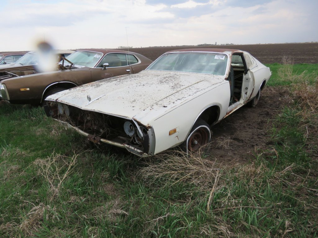 1973 Dodge Charger 318; $350
