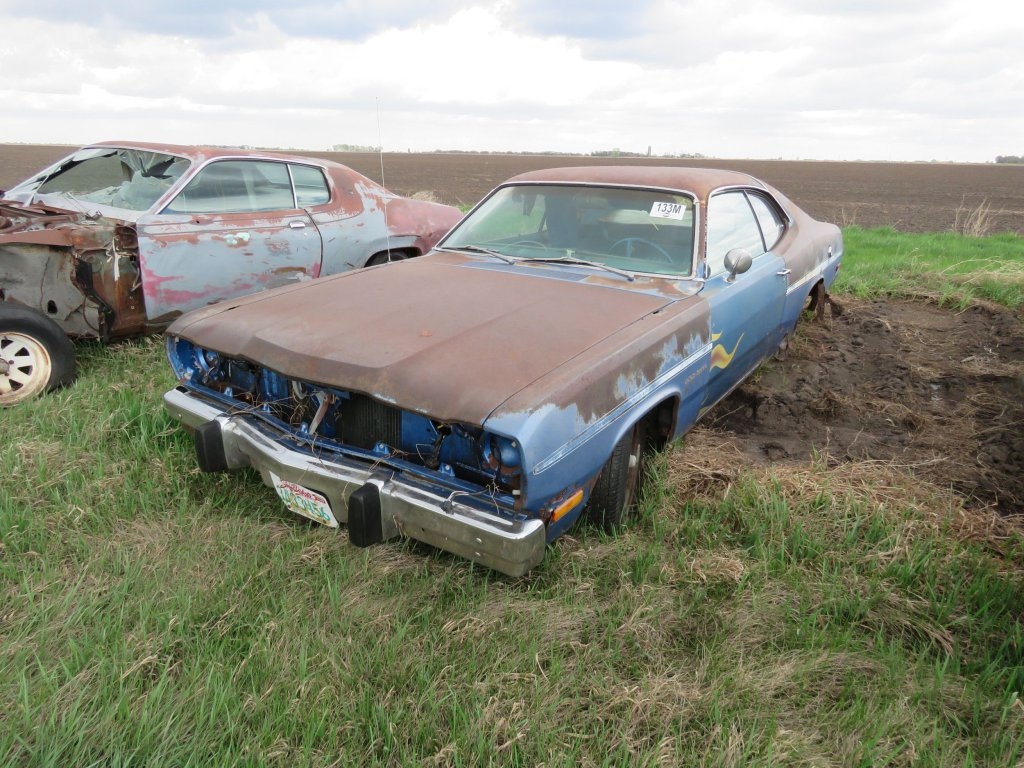 1973 Plymouth Duster 318; $300