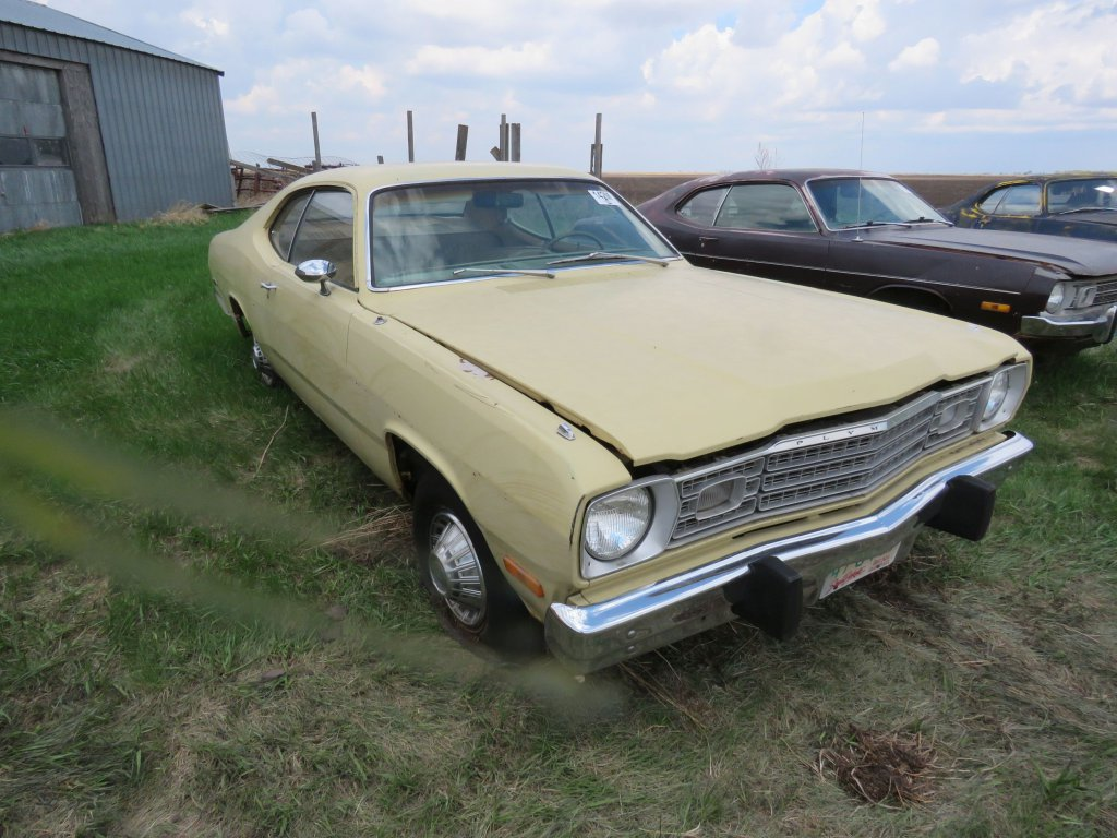 1973 Plymouth Duster Slant 6; $650