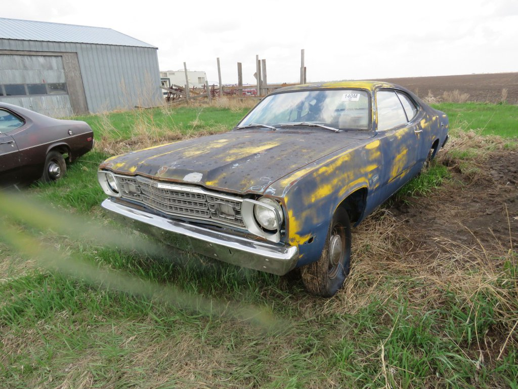 1974 Plymouth Duster 318; $550