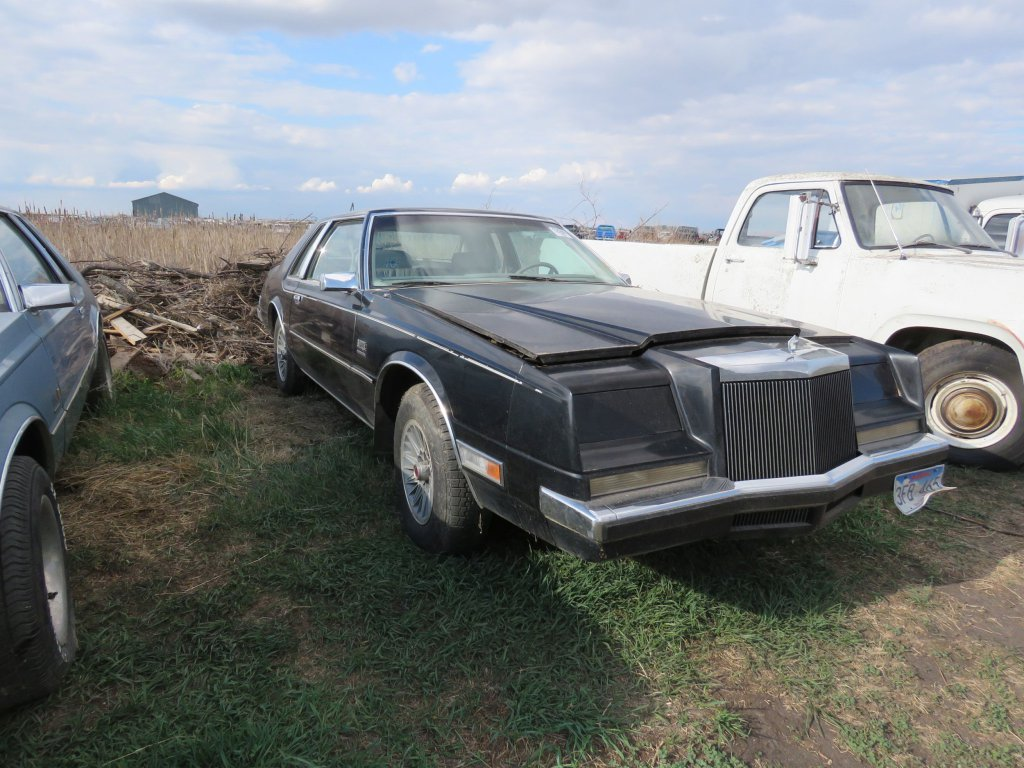 1981 Chrysler Imperial; $1,000 SECOND