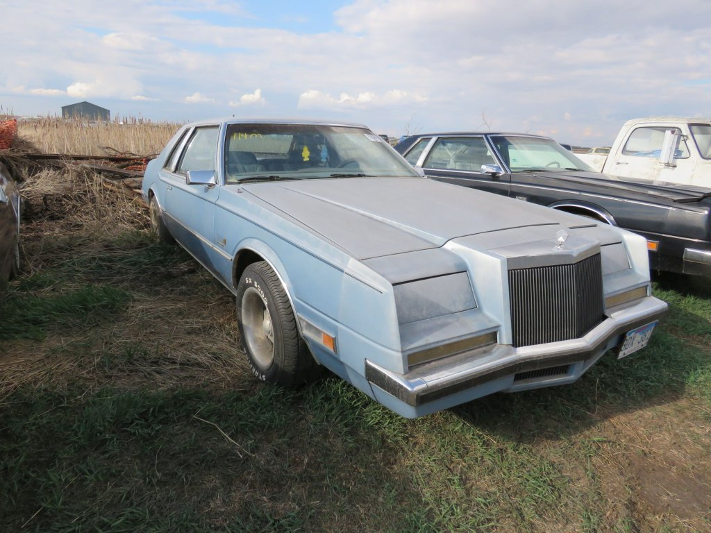 1982 Chrysler Imperial Frank Sinatra Edition; $1,300