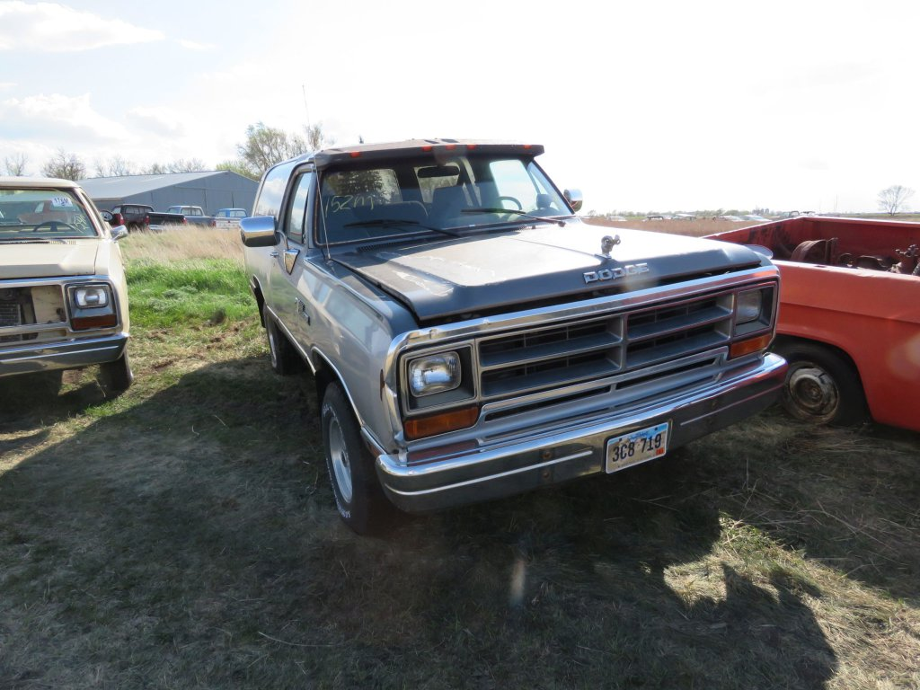 1990 Dodge Ram Charger; $4,250