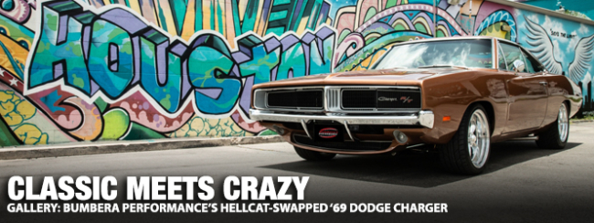 Classic Meets Crazy: Bumbera's Performance's Hellcat-Swapped '69