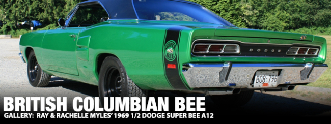 British Columbian Bee: Ray & Rachelle Myles' 1969 1/2 Dodge