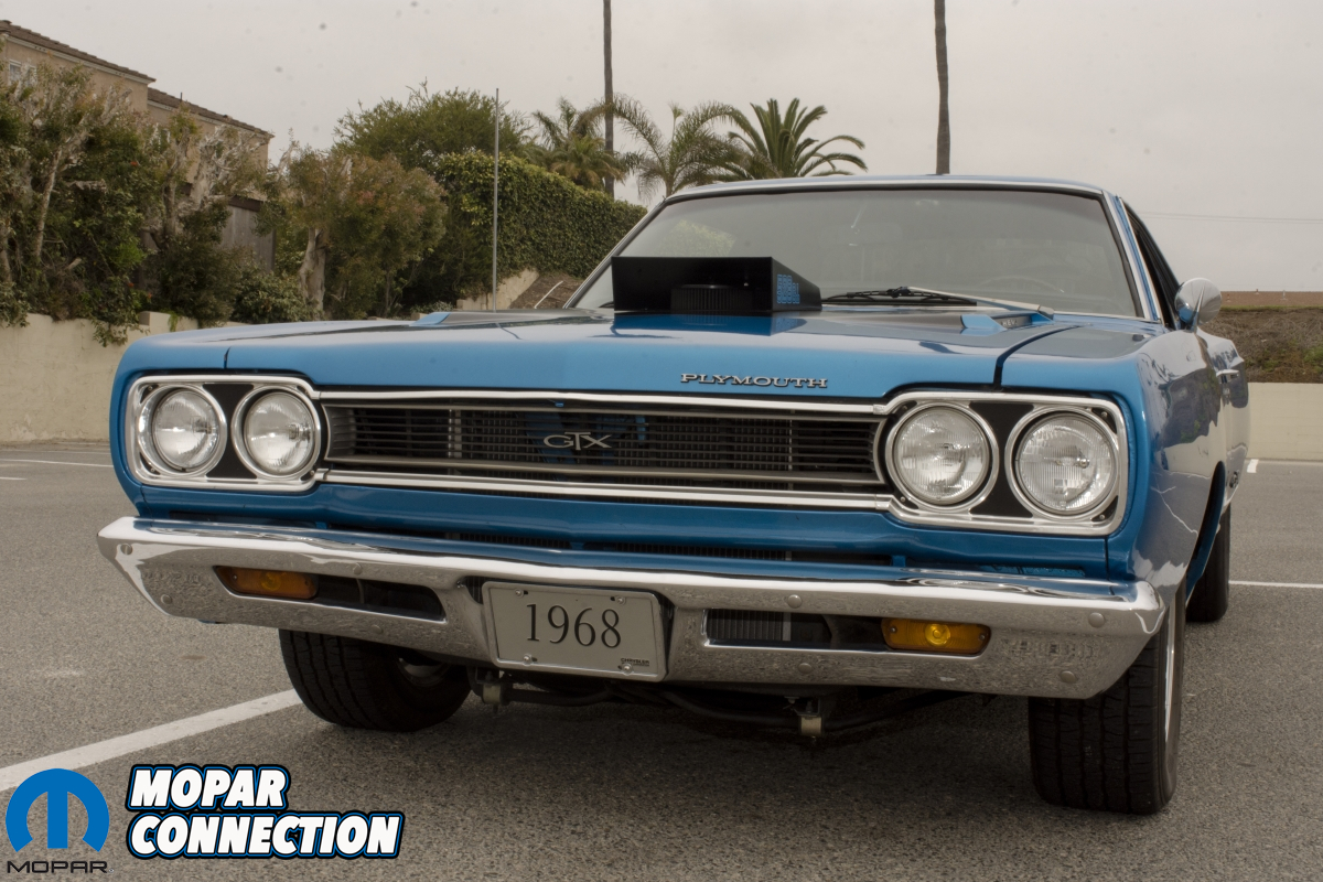 Bad to the Blue: Larry Dewees' 1968 Plymouth GTX - Mopar Connection