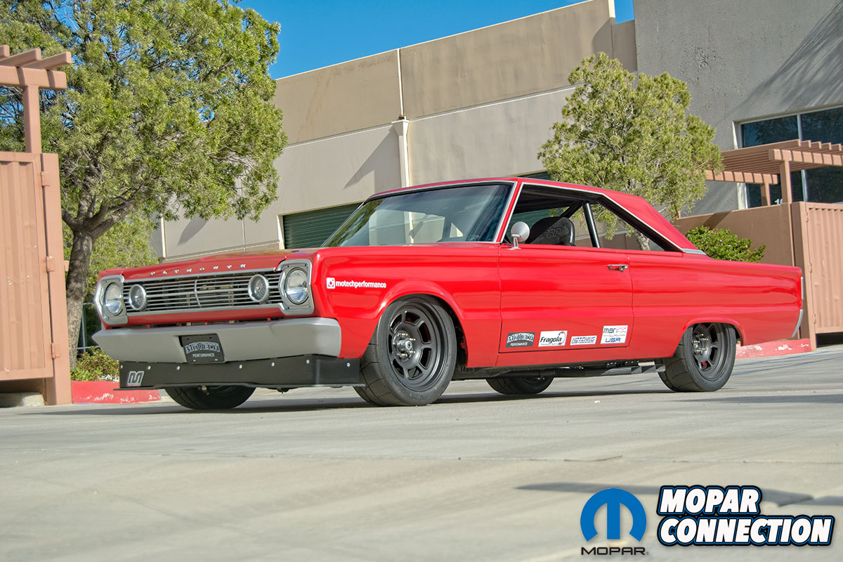 1966 Plymouth Belvedere built by Motech Performance