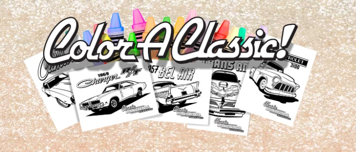 Classic Industries Releases Free 24 Page Downloadable Classic And Muscle Car Coloring Book Mopar Connection Magazine A Comprehensive Daily Resource For Mopar Enthusiast News Features And The Latest Mopar Techmopar Connection