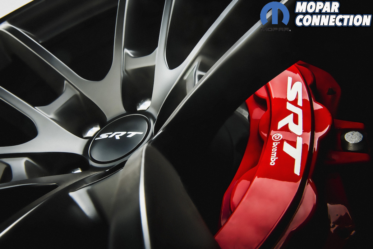 2021 Dodge Charger SRT Hellcat Redeye: Braking power comes from