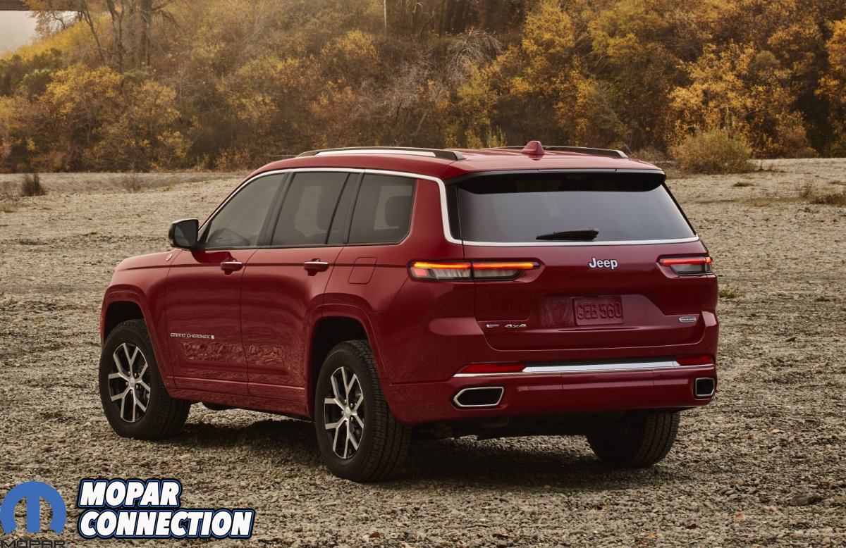 All-new 2021 Jeep® Grand Cherokee L Overland