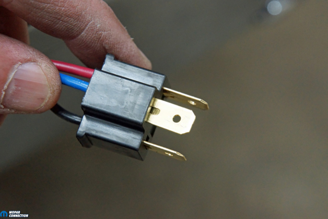 019-Relay-Conversion-Wires-Low-High-Beam-Ground-Mopar-Male-Connector