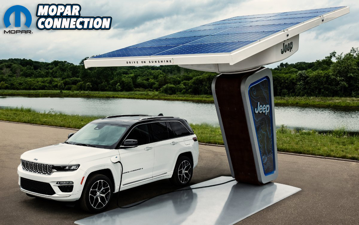 The all-new two-row 2022 Jeep® Grand Cherokee 4xe